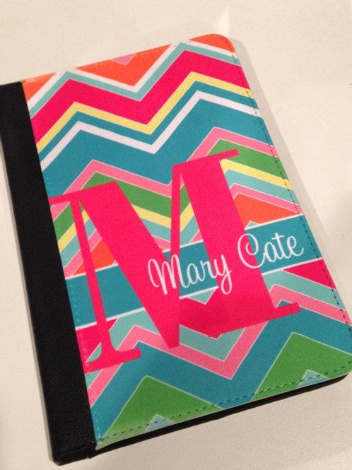Personalized iPad Mini Folio Case - Rainbow