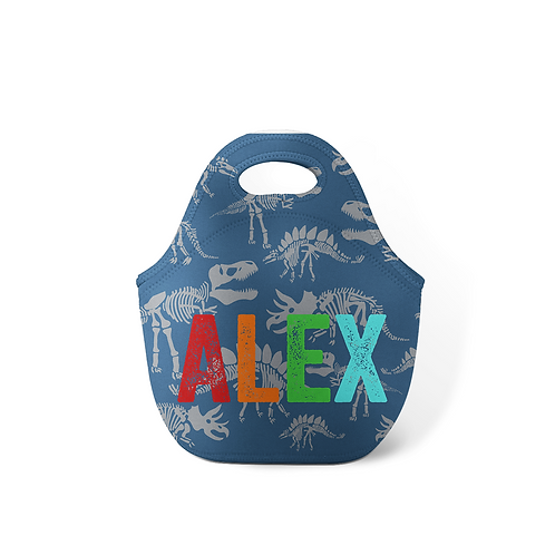 Jurassic - Personalized Lunch Tote