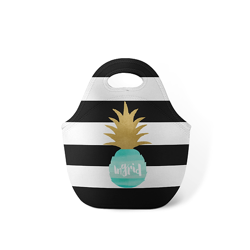 Pineapple - Personalized Lunch Tote