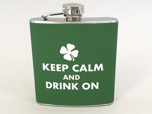 Stainless Steel Flask Item #stpf1007