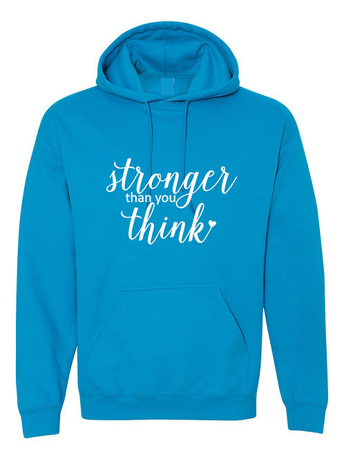 Stronger  - Ultra Warm Hoodie | Tin Tree Gifts Apparel