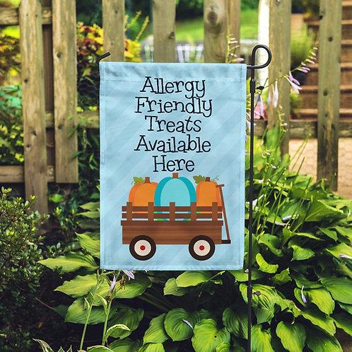 Pumpkin Patch- Food Allergy Awareness Flag