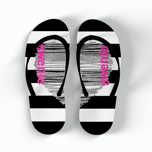 Grease Lighting - Personalized Flip Flops