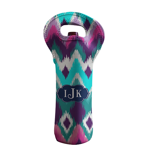 iKat - Personalized Wine Bottle Tote