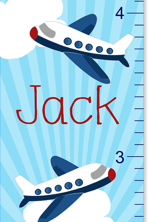 Up in the Air - Personalized Growth Chart