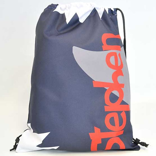 Shark - Personalized Draw String Bag