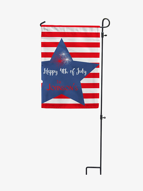 July 4th - Personalized Garden Flags