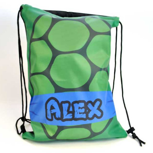 Leo Ninja - Personalized Draw String Bag