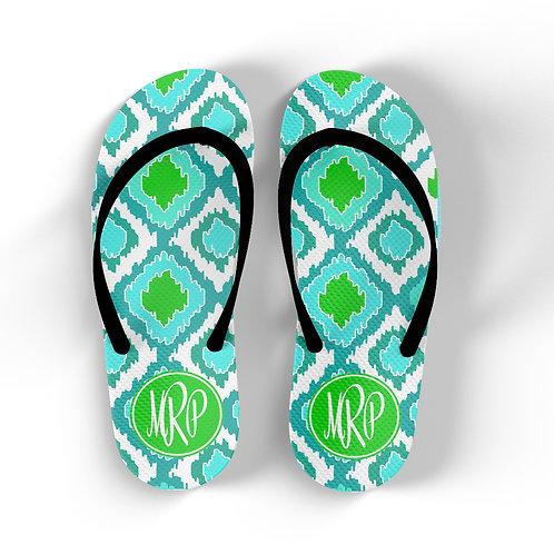 Rattlesnake - Personalized Flip Flops