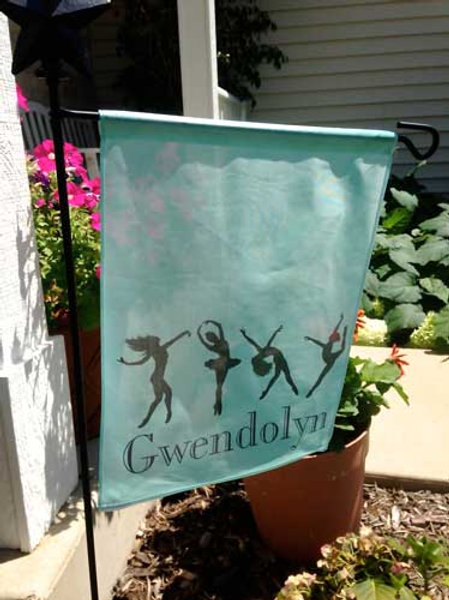 Dancer - Personalized Garden Flags