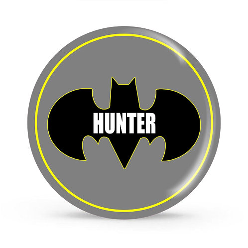 Batman - Personalized Plate For Kids