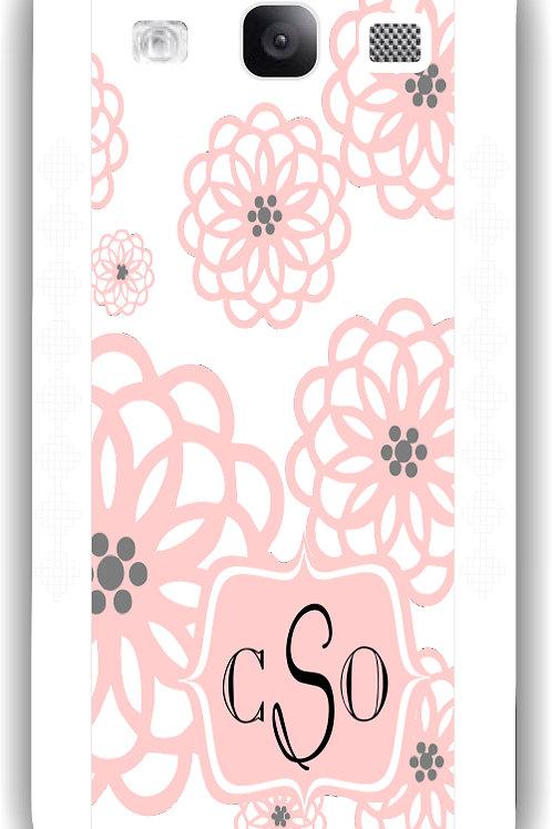 Flower Burst - Personalized Galaxy S3 Case