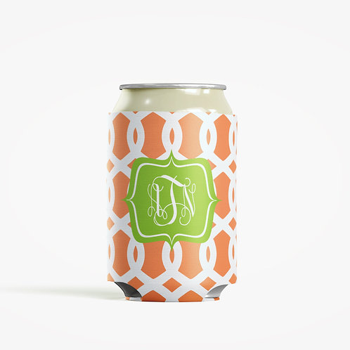 Trellis - Personalized Can Insulator Coolie