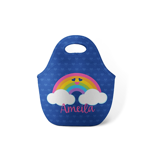 Rainbow Emoji - Personalized Lunch Tote