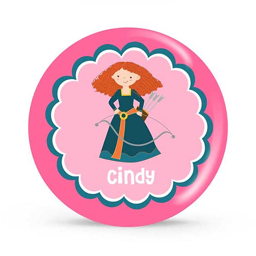 Brave - Personalized Plate For Kids