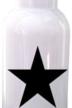 Black Star - Personalized Water Bottle Item #WB18