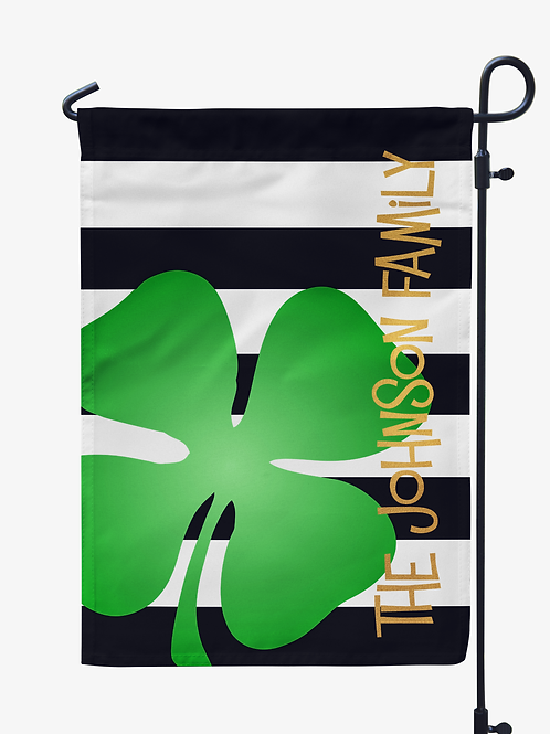Shamrock - St. Patricks Day Garden Flag