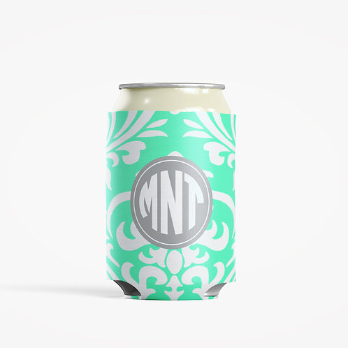 Damask - Personalized Can Insulator Coolie
