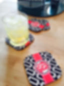 Personalized drinkware Personalized Hard Board Coasters