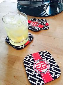 Personalized drinkware Personalized Hard Board Coasters