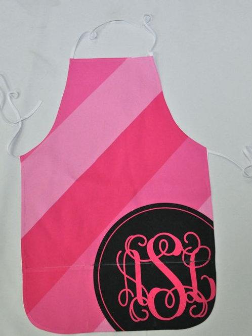Candy Stripe - Personalized Pocket Apron