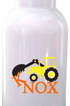Construction- Personalized Water Bottle Item #WB37