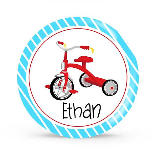 Lil Racer - Personalized Plate For Kids