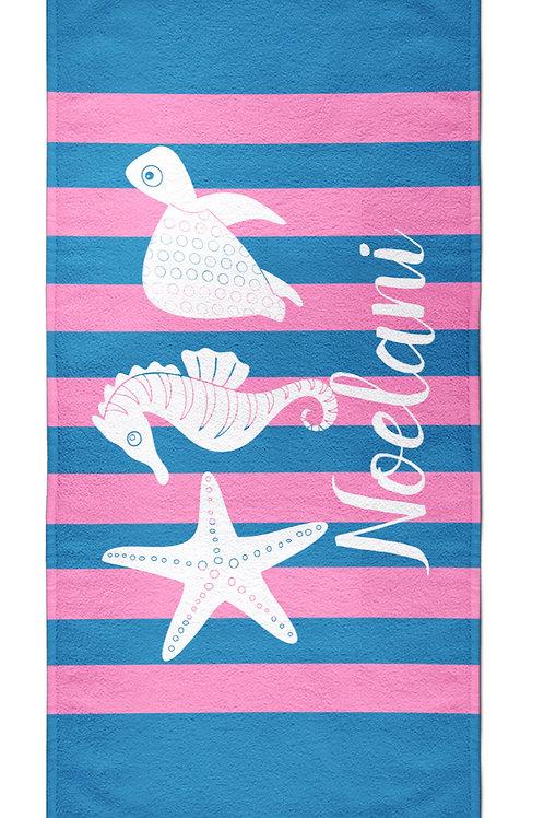 Sea Shore- Personalized Beach Towel
