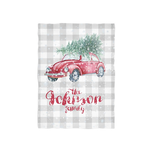 Personalized Christmas Throw Blankets
