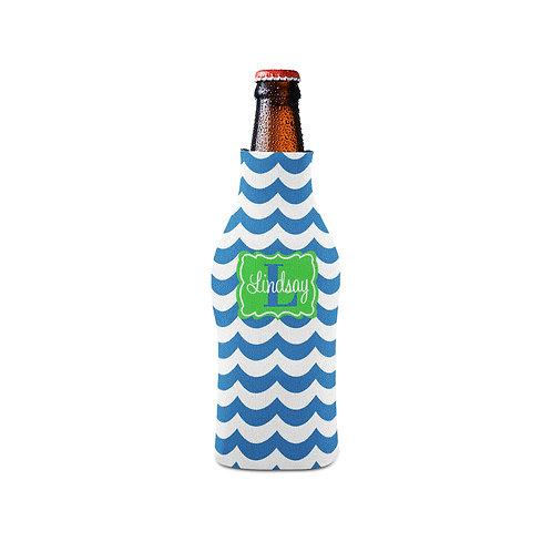 Waves - Personalized Bottle Insulator