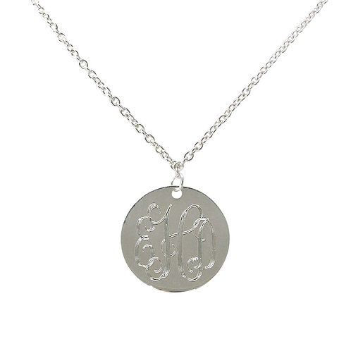 Charm Necklace - Personalized Monogram Jewerly