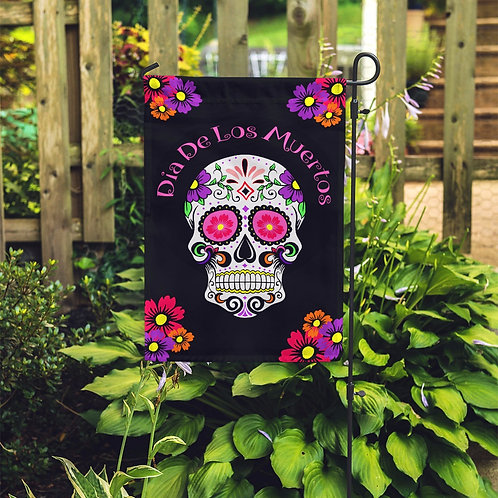 Sugar Skull Day- Personalized Garden Flags