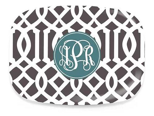 Roman Trellis - Personalized Platter