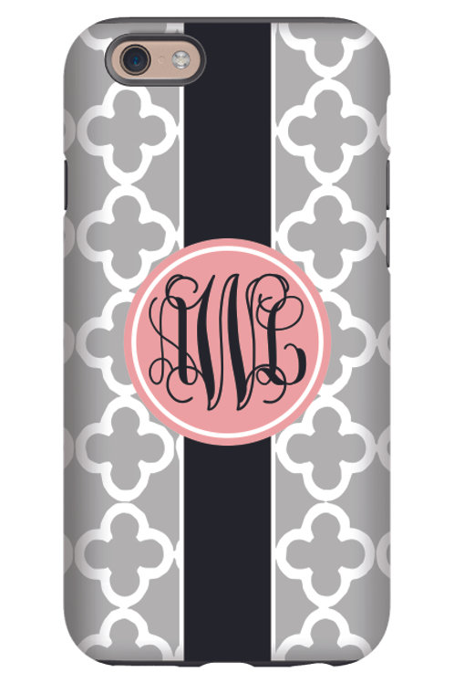 Grey Clubs - Personalized iPhone 7 Case