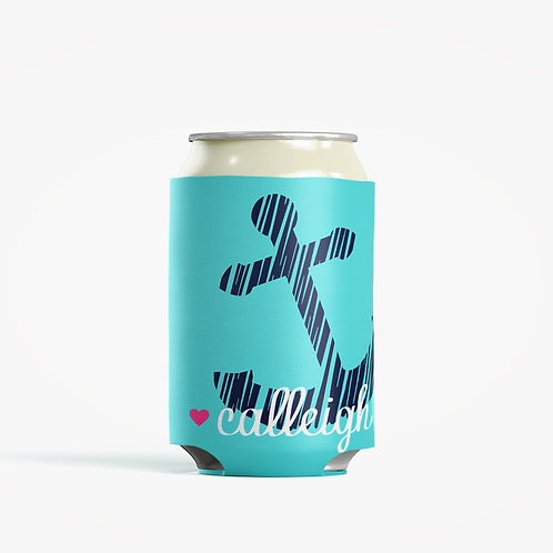 Anchor - Personalized Can Insulator Coolie