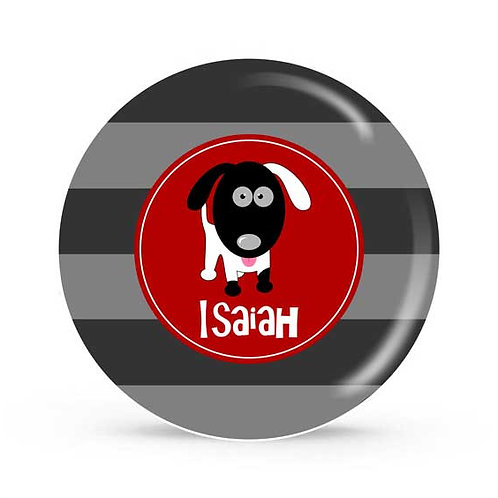 Puppy - Personalized Plate For Kids