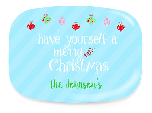 Ornament - Personalized Christmas Platter