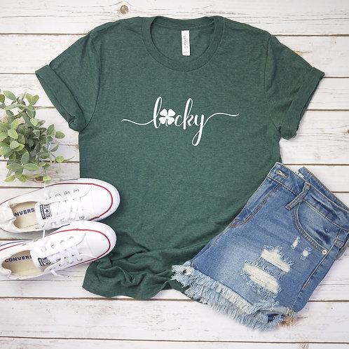 Lucky Shamrock - T-shirt | Tin Tree Gifts Apparel