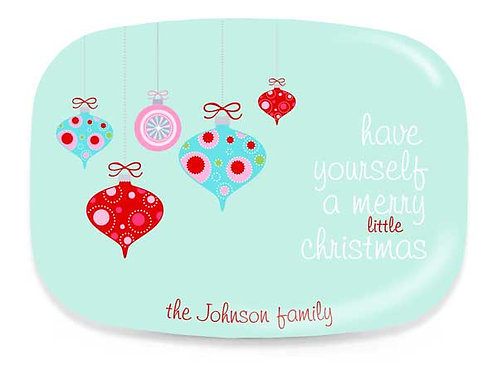 Ornaments - Personalized Christmas Platter