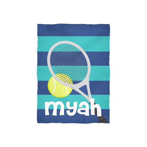 Tennis Pro - Personalized Throw Blanket