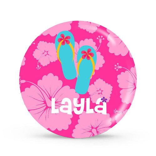 Aloha - Personalized Plate For Kids