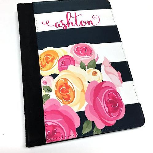 Personalized iPad Mini Folio Case - Whales