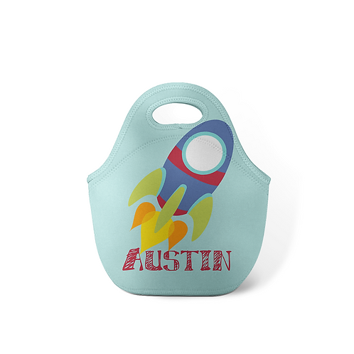 Rocket - Personalized Lunch Tote