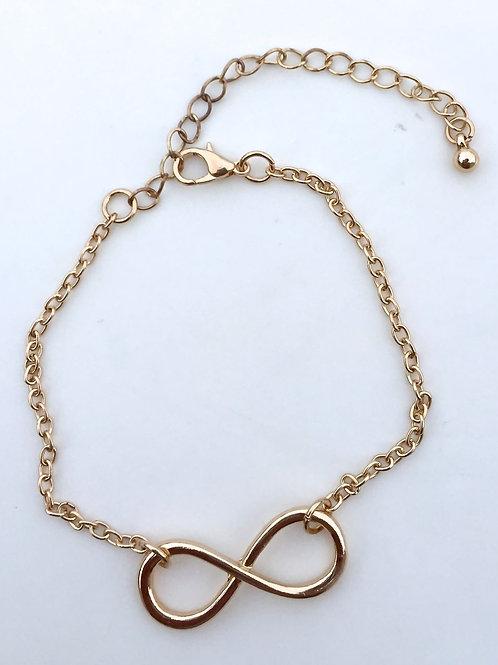 Infinity Bracelet - Gold