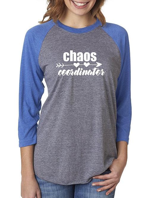 Chaos Coordinator - Raglan Tee