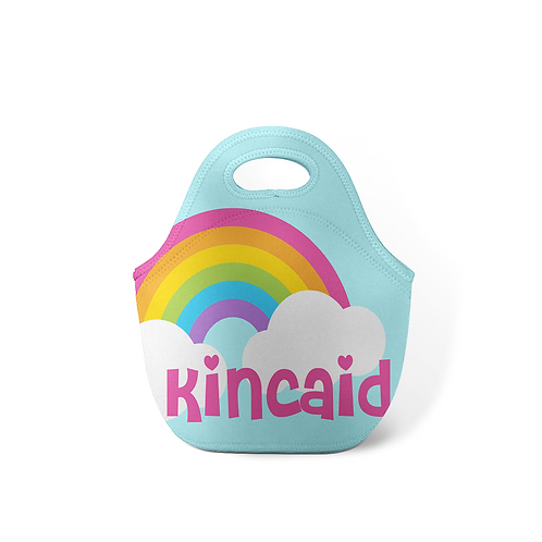 Over the Rainbow - Personalized Lunch Tote