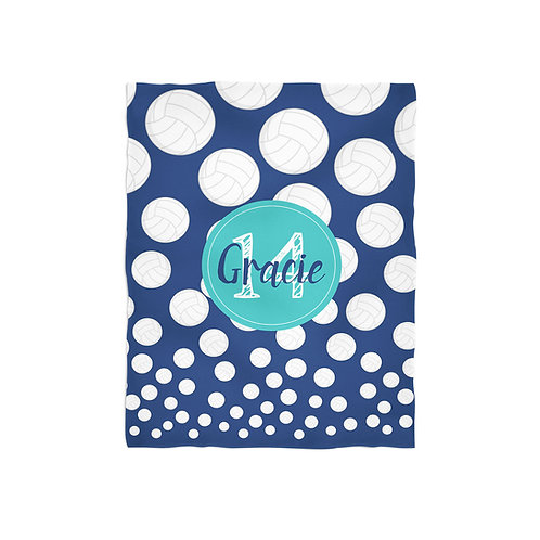 Volleyball Life- Personalized Throw Blanket