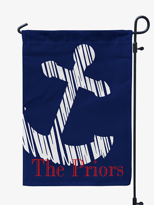 Anchor - Personalized Garden Flags