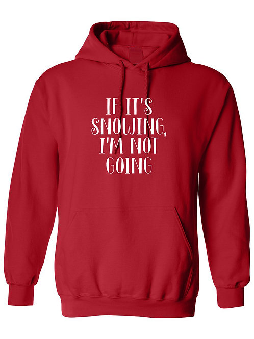 Snowing - Ultra Warm Hoodie | Tin Tree Gifts Apparel