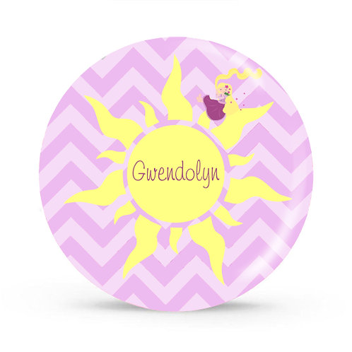 Tangles - Personalized Plate For Kids